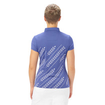 Nancy Lopez Golf: Women's Short Sleeve Polo - Carefree