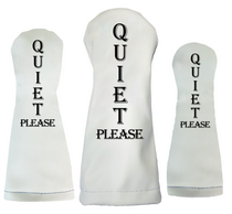 Sunfish: Duraleather Headcover (Driver, Fairway, Hybrid, or Set) - Quiet Please