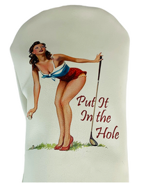 Sunfish: Duraleather Headcover (Driver, Fairway, Hybrid, or Set) - Put it In the Hole