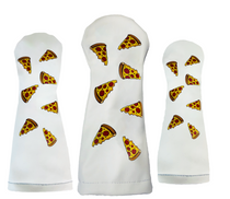 Sunfish: Duraleather Headcover (Driver, Fairway, Hybrid, or Set) - Dancing Pizza