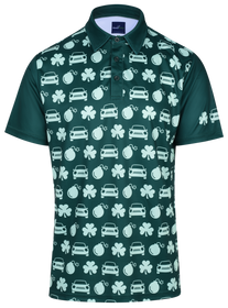 Irish Car Bombs Mens Golf Polo Shirt by ReadyGOLF