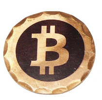 Sunfish: Copper Ball Marker - Bitcoin
