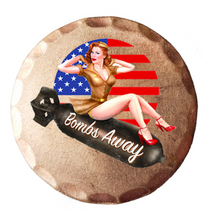 Sunfish: Copper Ball Marker - Bombs Away Pin Up