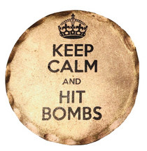 Sunfish: Copper Ball Marker - Keep Calm Hit Bombs