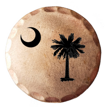 Sunfish: Copper Ball Marker - South Carolina Palmetto