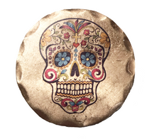 Sunfish: Copper Ball Marker - Sugar Skull