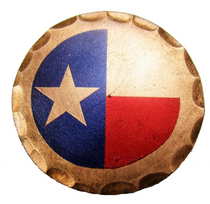 Sunfish: Copper Ball Marker - Texas Flag