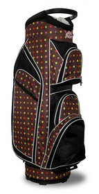 Taboo Fashions: Ladies Monaco Premium Lightweight Cart Bag - Cocoa Eye Candy
