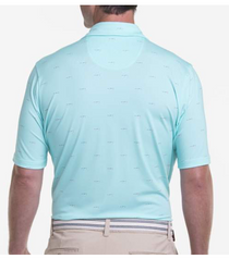 Fairway & Greene: USA Seaplane Print Jersey Polo