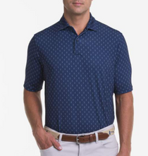 Fairway & Greene: USA Waterski Print Jersey Polo