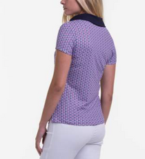 Fairway & Greene: Women's Nola Short Sleeve Polo