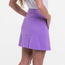 EP NY Golf: Women's Knit Skort With Back Mesh Pleat Detail - ns1001x