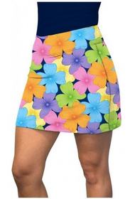 Loudmouth Golf: Women's Active Skort - Poppycock