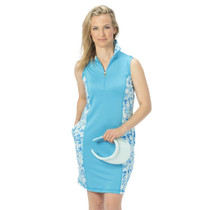 Nancy Lopez Golf: Women's Dress - Glimmer (Mist Multi, Size: Small) SALE
