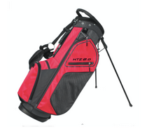 Hot-Z Golf: 2.0 Stand Bag - Black/Red