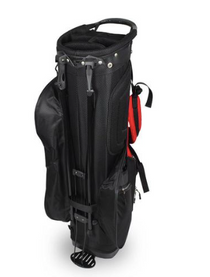 Hot-Z Golf: 2.0 Stand Bag - Black/Red *Estimated Ship Date end of March