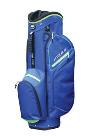 Hot-Z Golf: 2.5 Cart Bag - Blue/Lime
