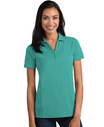 Antigua: Women's Performance Short Sleeve Polo - Tribute 104198 (Medium Patina, Size: Large) SALE