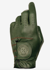 Asher Golf: Mens Premium Golf Glove - Moss