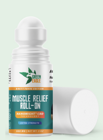 Green Eagle: Nanomight™ CBD Relief Roll-on - 500 Mg