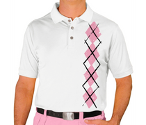 Golf Knickers: Men's Argyle Heaven Golf Shirt