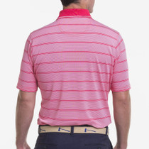 Fairway & Greene: Men's USA Lake Stripe Jersey Polo