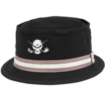 Tattoo Golf: Premium Bucket Golf Hat with Skull