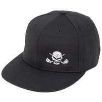 Tattoo Golf: 110 Snap Back Flat Brim Golf Hat