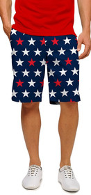Loudmouth Golf: Men's StretchTech Shorts - Superstar Navy