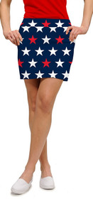 Loudmouth Golf: Women's StretchTech Skort - Superstar Navy