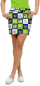 Loudmouth Golf: Women's StretchTech Skort - I Love Golf