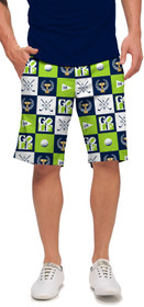 Loudmouth Golf: Men's StretchTech Shorts - I Love Golf