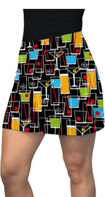 Loudmouth Golf: Women's Active Skort - Happy Hour