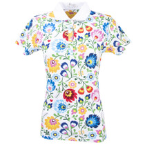 Nancy Lopez Golf: Women's Short Sleeve Polo - Beauty