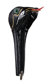 Sahara Golf: Snake Driver Headcover - Black
