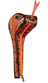 Sahara Golf: Snake Driver Headcover - Orange