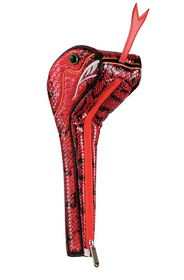 Sahara Golf: Snake Driver Headcover - Red