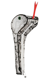 Sahara Golf: Snake Driver Headcover - White
