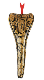 Sahara Golf: Snake Driver Headcover - Yellow