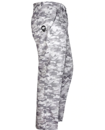 Tattoo Golf: Men's Camo Print ProCool Golf Pants - White