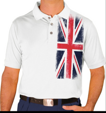 Golf Knickers: Men's Homeland Golf Shirt - United Kingdom