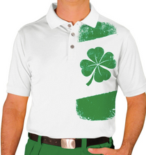 Golf Knickers: Men's Homeland Golf Shirt - Ireland