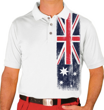 Golf Knickers: Men's Homeland Golf Shirt - Australia