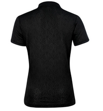Daily Sports: Women's Linn Short Sleeve Polo Shirt - Black
