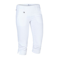 Daily Sports: Women's Magic Capri - White (Size: 10) SALE