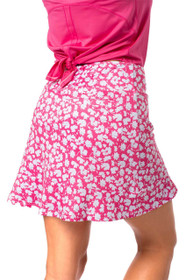 Golftini: Women's Pull-On Ruffle Stretch Skort - Sprinkles
