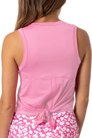 Golftini: Women's Sport Tech Tie Top - Light Pink