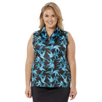 Nancy Lopez Golf: Women's Short Sleeve Plus Polo - Soar