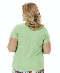 Nancy Lopez Golf: Women's Short Sleeve Plus Polo - Journey
