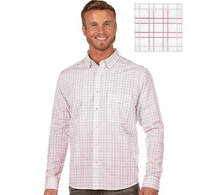 Antigua: Men's Contemporary Fan Apparel Woven - Concord 104403 (Size: Medium, 889 DkRed/White/Silver) SALE